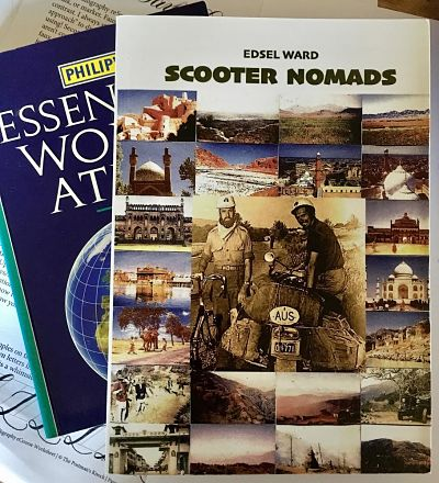 Scooter Nomads by Local Author, Edsel F Ward