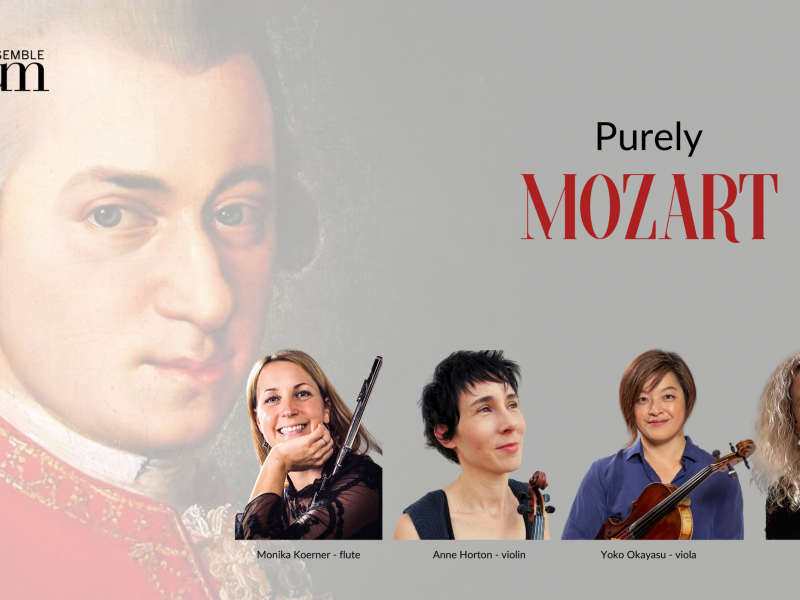 Purely Mozart at Montville Village Hall – 23 February at 3pm